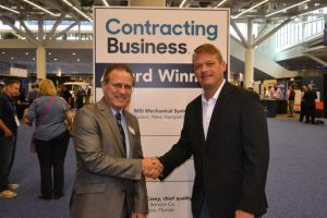 """Pioneer Comfort Wins Contracting Business Magazine """"National Residential HVAC Contractor of the Year"""" Award"""